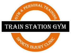 train station gym logo